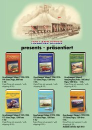 presents - präsentiert - holland circus