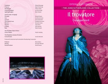 Il trovatore Booklet - Buywell