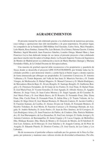 AGrAdeciMientos - Ministerio de Agricultura, Alimentación y Medio ...