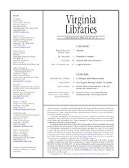 2.02 Va Lib - Digital Library and Archives - Virginia Tech