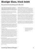 Kulturmagazin II|2013. Noblesse oblige! Château de Prangins ... - Page 4