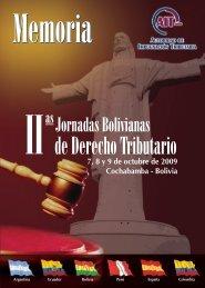 Segundas Jornadas Bolivianas de Derecho Tributario