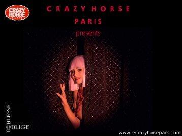 crazy horse obligations - Noblesse Oblige