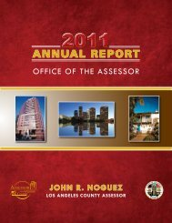 2011 Annual Report - Los Angeles County Assessor