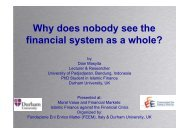 Why does nobody see the financial system as a whole?