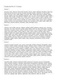 Champion Spelling List 14 - Spelling School