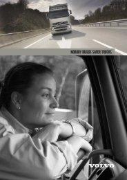 Nobody builds safer trucks (2 MB) - Volvo Trucks