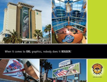 When it comes to XXL graphics, nobody does it BIGGER.™ - Vision ...
