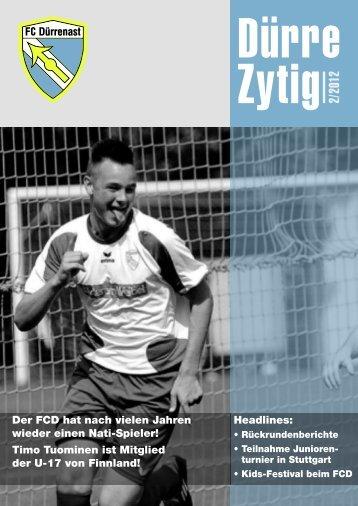 Unsere Schiedsrichter Dürre-Zytig 1 - FC Dürrenast
