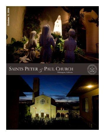 October 11, 2009 - Saints Peter and Paul Church