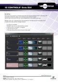 42 CONTROLS® Octo GUI - VIDELCO - Page 2