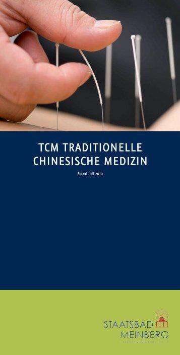 TCM TRADITIONELLE CHINESISCHE MEDIZIN