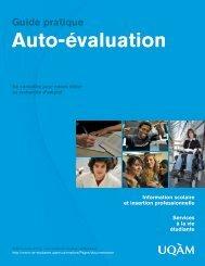 Guide « Auto-évaluation - UQAM