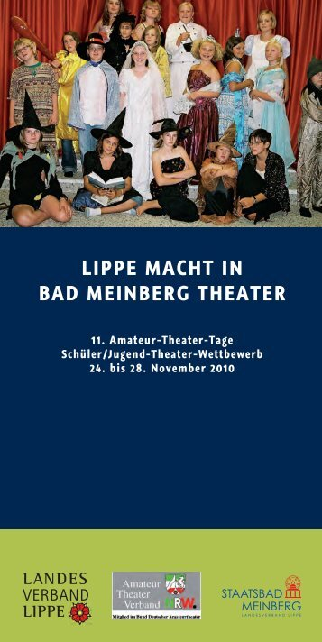 LIPPE MACHT IN BAD MEINBERG THEATER - Staatsbad Meinberg