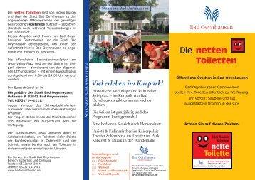 netten Toiletten - Bad Oeynhausen