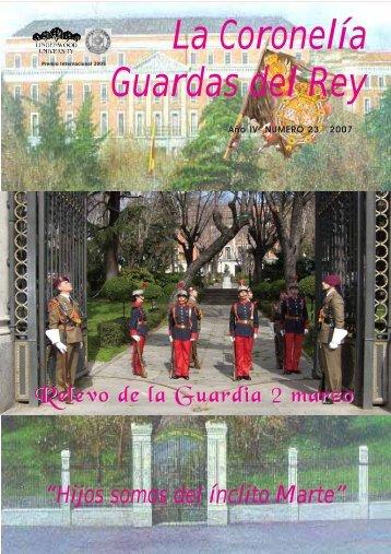 La Coronelía Guardas del Rey - Coronelia-guardas-del-rey.com
