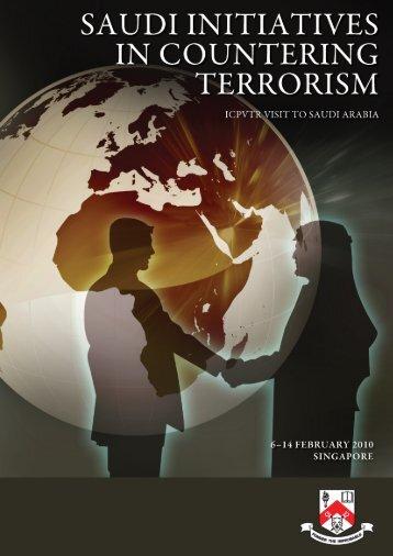 Saudi Initiatives in Countering Terrorism - S. Rajaratnam School of ...