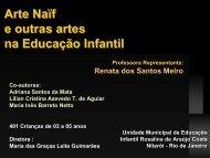 RJ Arte Naif e Outras Artes na Educação Infantil