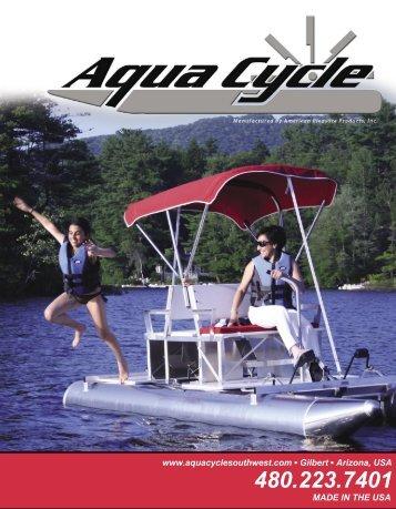 www.aquacyclesouthwest.com Gilbert Arizona, USA MADE IN THE ...