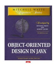 Object-Oriented Design In Java — SAMS - Parent Directory - Free