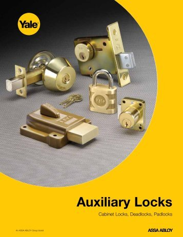Yale Padlocks & Aux Locks Catalog - MyDoorFix.com