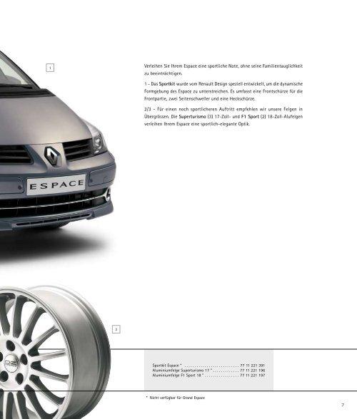 Zubehör - Renault