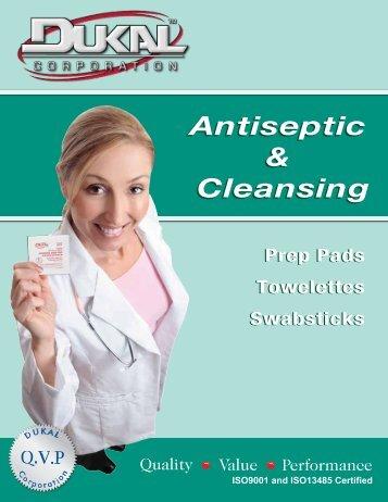 Antiseptic & Cleansing Antiseptic & Cleansing - Dukal