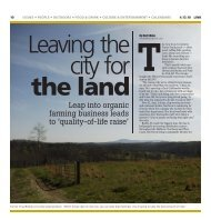 Leap into organic farming business leads to ... - Greenbrier Farms