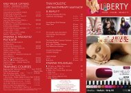 download our Prices & Services - Liberty Nails