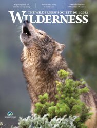 Download Document - The Wilderness Society