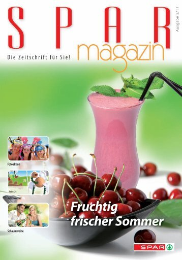 SPAR Schweiz - Magazin 05/11