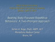 An introduction to habit reversal training for body-focused repetitive ...