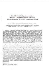 Diet of the vizcacha Lagostomus maxim us (Rodentia, Chinchillidae ...