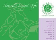 Naturally Inspired Gifts - The Master Herbalist