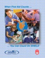 Shield First Aid Products - Dentec Safety Specialists Inc.