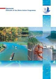 Upstream – Balance of the Rhine Action Programme - IKSR
