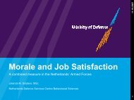 Morale and Job Satisfaction