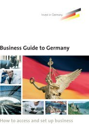 Business Guide to Germany - Deutsche Botschaft Rom ...