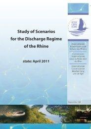 Study of Scenarios for the Discharge Regime of the Rhine - IKSR