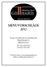 INKLUSIVE NACHSERVICE - Restaurant Gotthard | Goldau
