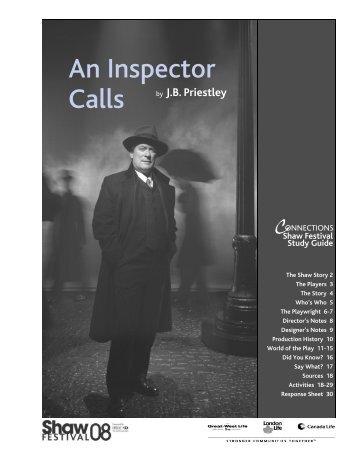An Inspector Calls - Shaw Festival Theatre