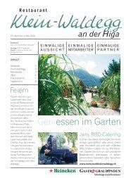 an der Higa - Restaurant Klein-Waldegg