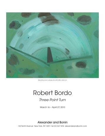 Robert Bordo - Alexander and Bonin