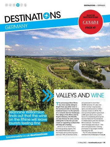 VALLEYS AND WINE - Travel Weekly
