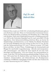 DGAI-Ehrennadel Gold 2007: Prof. Dr. med. Roderich Klose