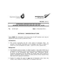 Internal Administration Circular 11-10 - Immigration New Zealand