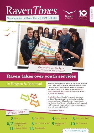 Raven Times March 2012 - Raven Housing Trust