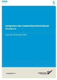 Residence PDF - Immigration New Zealand