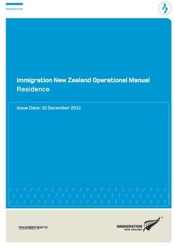 Residence PDF - Immigration New Zealand