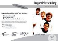 Der Flyer zur Veranstaltung - BDKJ Speyer